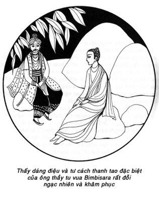 Vua Bimbisara và Bụt