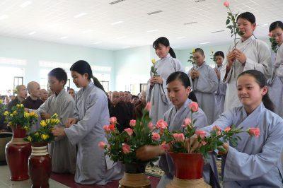 2007 03 03 lễ dẫn thỉnh xuất gia Trầm Hương