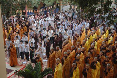 2008-05-01 chùa bằng - lễ truyền 5 giới
