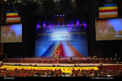 2008 05 14 thiền sư Thích Nhất Hạnh tại Vesak Hà Nội