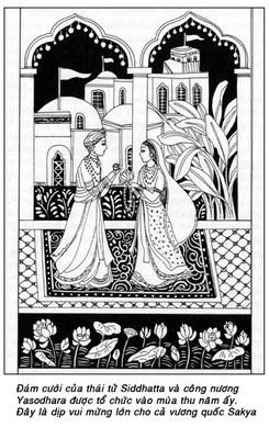Đám cưới của thái tử Siddhatta