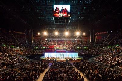 Buổi thuyết giảng công cộng cho 11,000 người tại Conventional Center - Hồng Kông