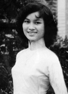 Hà Thanh khi trẻ