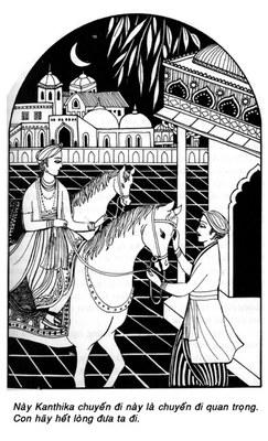 Con Ngựa Kanthaka