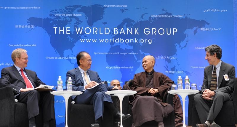 Thiền sư Thích Nhất Hạnh thăm World Bank