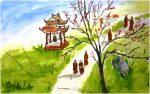Xóm Thượng mùa xuân