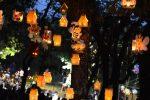 Các loại đèn lồng đầy sáng tạo giúp cho lễ hội thêm ấm áp