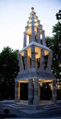 Tháp chuông tại học viện EIAB