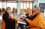 Lễ truyền đăng tại Làng Mai Thái Lan.2