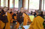 Lễ truyền đăng tại Làng Mai Thái Lan.3