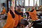Lễ truyền đăng tại Làng Mai Thái Lan.5