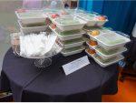 Những hộp cơm chay dành cho buổi ăn cơm chánh niệm