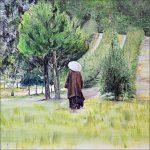 Thay walks - painting