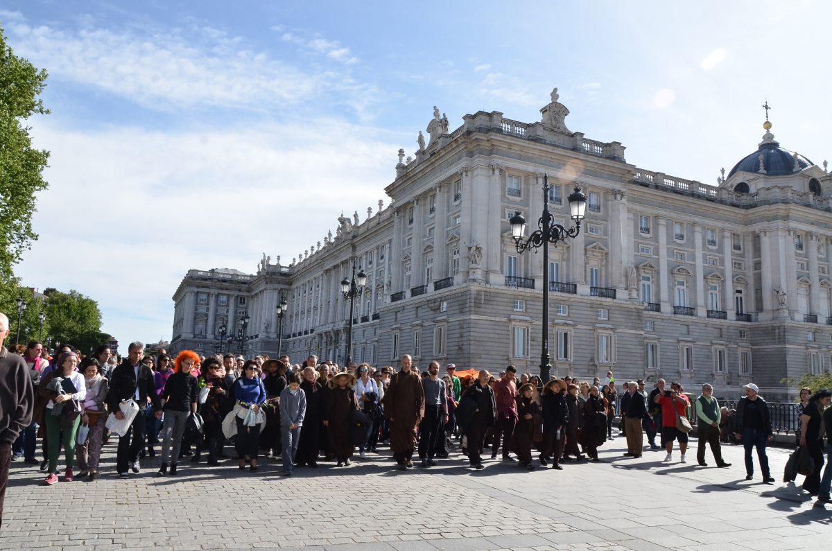 Thiền hành - Flashmob