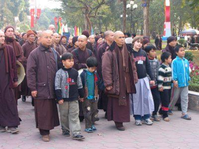Thien hanh tai Ha Noi lang mai thich nhat hanh 2005